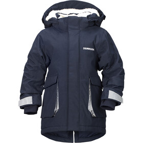 Didriksons 1913 Indre Parka Kids Navy